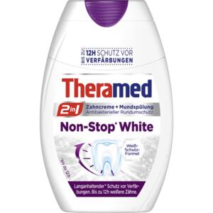 Theramed gel Nonstop white Zubní pasta 75ml