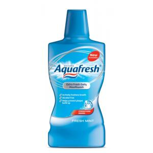 Aquafresh Fresh Mint ústní voda 500ml